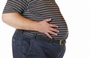 ожирение живота второй степени