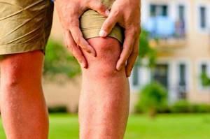 суставы коленей