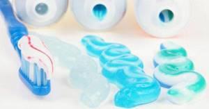 что означают полоски на зубной пасте