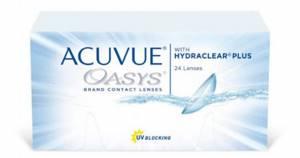 24 линзы Acuvue Oasys/